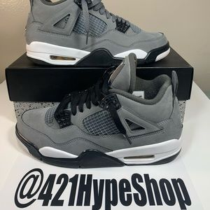"Air Jordan 4 Retro ""Cool Grey"" 2019"